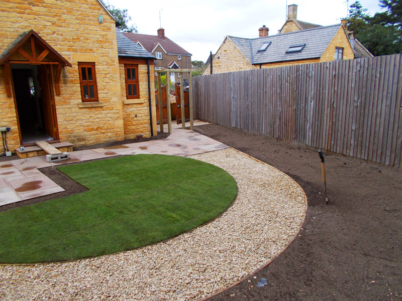 Small-New-build-landscaped-garden