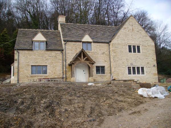 Dan groves contracting dan groves contracting for Build a stone house