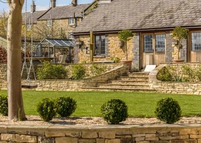 Landscaped garden, Blockley