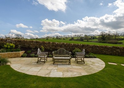 Landscaped garden and extended parking, Blockley