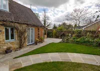 Terraced garden, Bourton-on-the-Hill