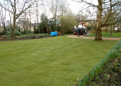 New lawn, Kingham