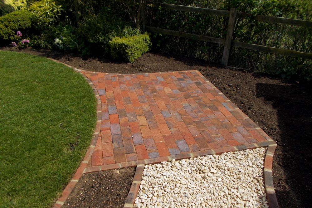 Redbrick patio