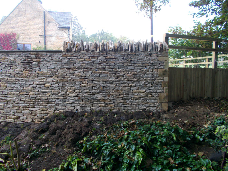 Dan Groves Contracting Drystone Walling Broadwell Gloucestershire