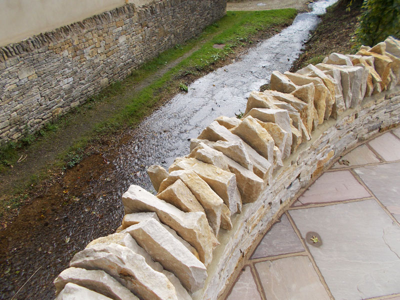 Dan Groves Contracting Drystone Walling Paving Broadwell Gloucestershire