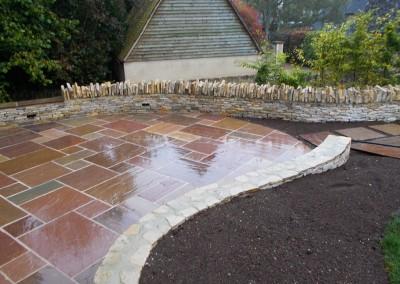 Paved Garden Terrace, Broadwell