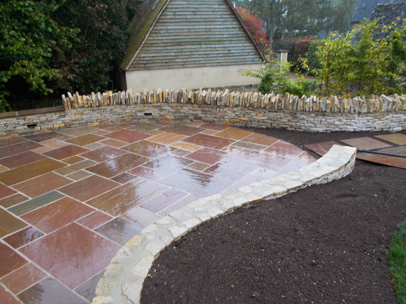 Paved Garden Terrace, Broadwell