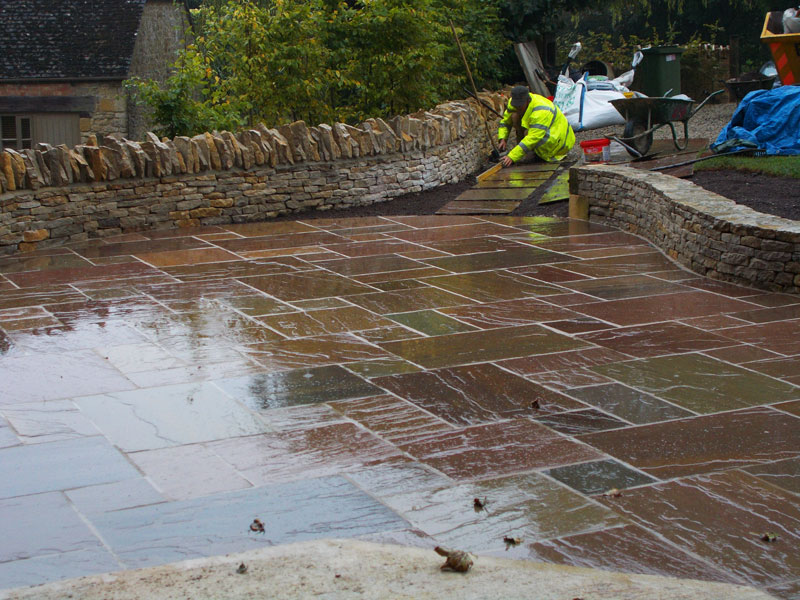 Dan Groves Contracting Paving Broadwell Gloucestershire