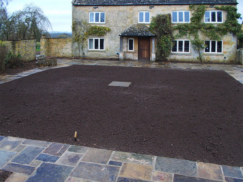 Reclaimed York Paving project near Moreton in Marsh AFTER