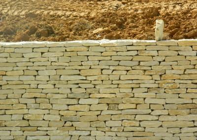 Cotswold dry stone walling – Cheltenham