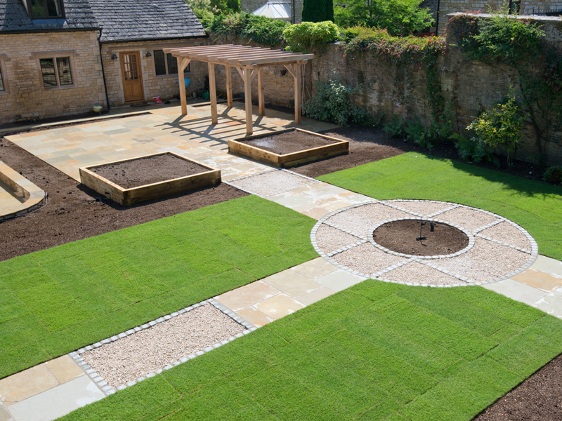 Landscaped garden – Lower Slaughter